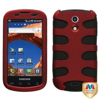 MYBAT Red/ Black Fishbone Protector Case for Samsung D700 Epic 4G