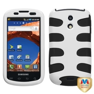 MYBAT White/ Black Fishbone Protector Case for Samsung D700 Epic 4G