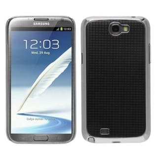 MYBAT Silver Plaid Executive Back Case for Samsung� Galaxy Note II