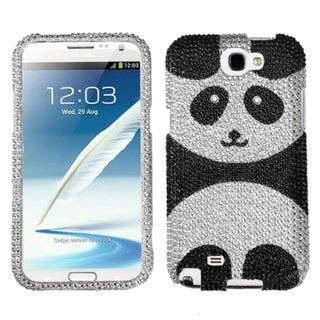 MYBAT Playful Panda Diamante Protector Case for Samsung Galaxy Note 2