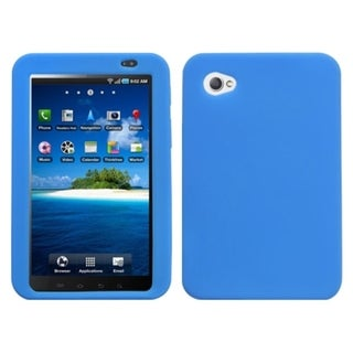 MYBAT Dark Blue Solid Skin Case for Samsung P1000 Galaxy Tab