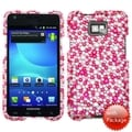 MYBAT Pink/ Silver Stardust Diamante Case for Samsung� I777 Galaxy S2