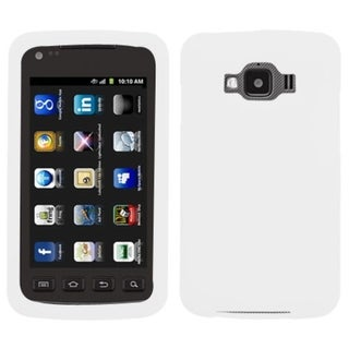 MYBAT White Solid Skin Case for Samsung� I847 Rugby Smart