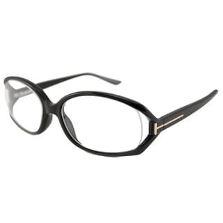 Tom Ford Readers Women's TF5186 Black Oval Reading Glasses