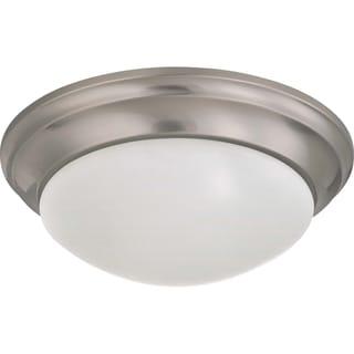 are cfl and led lights safe for indoors in flush mounts diy