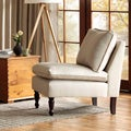 Toulouse French Seam Beige Chair