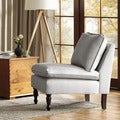 Toulouse Grey French Seam Chair