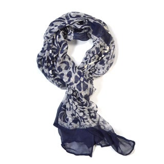Slate Blue Mirage Scarf (India)