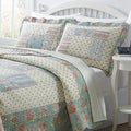 Olivia 3-piece Patchwork Quilt Set
