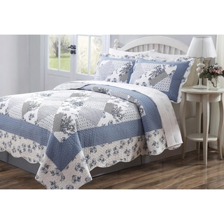 Connie 3-piece Patchwork Quilt Set