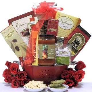 'Italian Romance' Anniversary Gift Basket