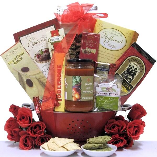 Great Arrivals 'Italian Romance' Anniversary Gift Basket