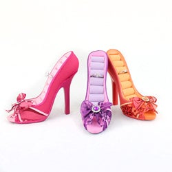 Summer Bliss Peep Toe Shoe Ring Holder
