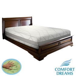 Comfort Dreams Gel-infused 13-inch King Size Memory Foam Mattress / Thermo-Gel Cover