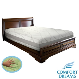 Comfort Dreams Gel-infused 13-inch California King Memory Foam Mattress / Thermo-Gel Cover