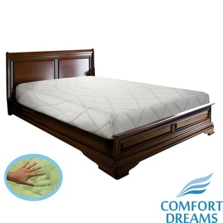 Comfort Dreams Gel-infused 11-inch Queen-size Memory Foam Mattress with Thermo-Gel Cover