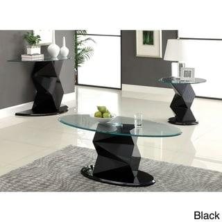 Furniture of America Contemporary Picazzo 3-piece Contemporary Table Set