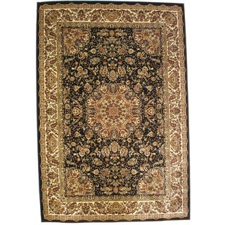 Bursa Black Indoor Area Rug (3'3 x 5')