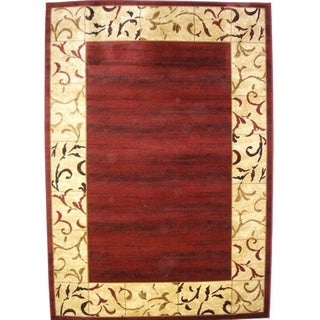Bursa Burgundy Indoor Area Rug (3'3 x 5')