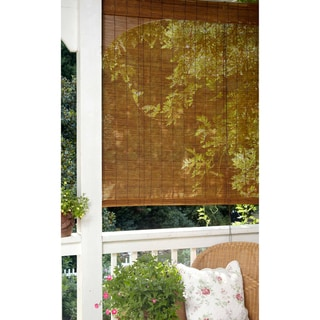 Matchstick Bamboo Indoor/ Outdoor Roll Up Blind