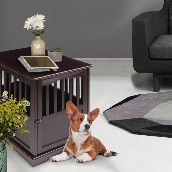 Wooden Furniture Pet Crate