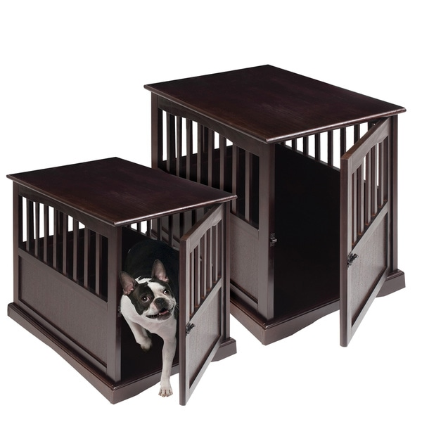 crown pet crate table dog crates at hayneedlethe crown pet crate table ...