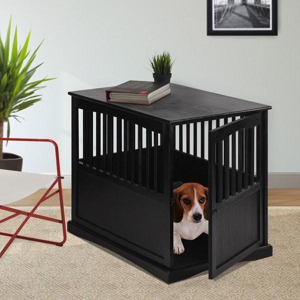 Wooden Furniture Pet Crate
