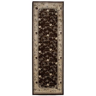 Brown Area Rug Bursa Runner (2'8x6'7)