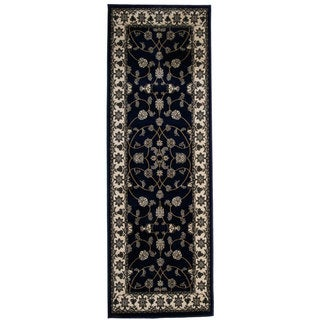 Area Rug Runner Bursa Blue (2&#39;8 x 6&#39;7)