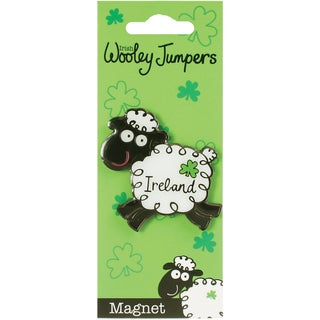 Wooley Jumper Metal Magnet-