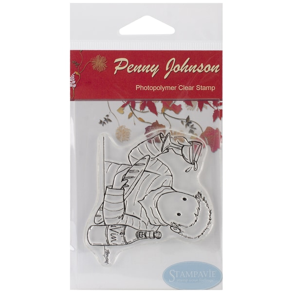 Stampavie Penny Johnson Clear Stamp-Francois 3-1/2""