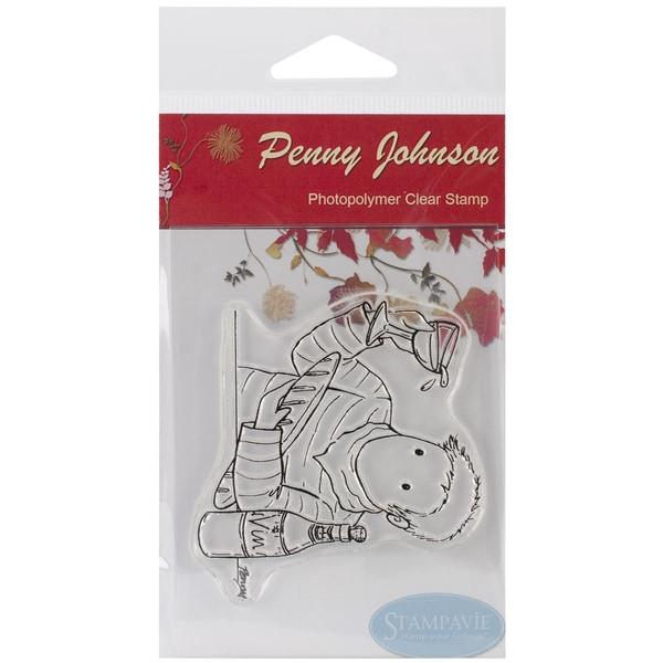 "Stampavie Penny Johnson Clear Stamp-Francois 3-1/2"""