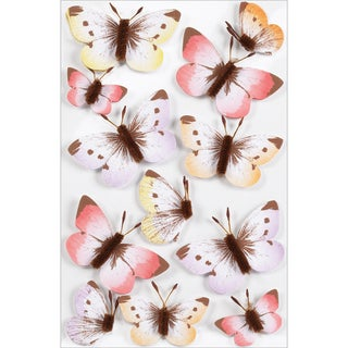 Martha Stewart Stickers-Sunny Days Ombre Butterfly