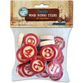 Vintage Collection Bottle Cap Bingo Chips 30/Pkg-Red