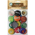 "Vintage Collection Standard Bottle Caps 1"" 24/Pkg-Vintage Blend"