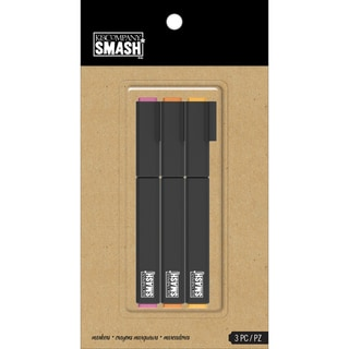 SMASH Warm Markers-3/Pkg