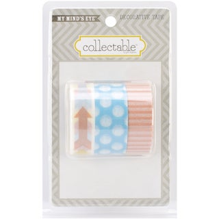 Collectable Notable Decorative Tape 3 Rolls/Pkg-