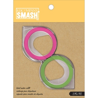 SMASH Green & Pink Label Maker Refills-