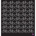 "Designer Stencil 12""X12""-Bicycles"