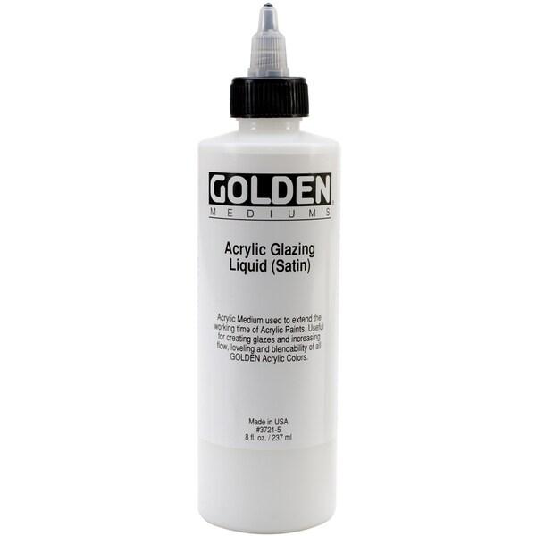 Acrylic Glazing Liquid 8 Ounces-Semi-Gloss