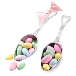 Candy Scoops 2/Pkg-Silver
