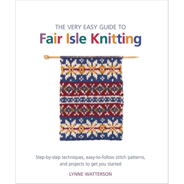 St. Martin's Books-Very Easy Guide To Fair Isle Knitting