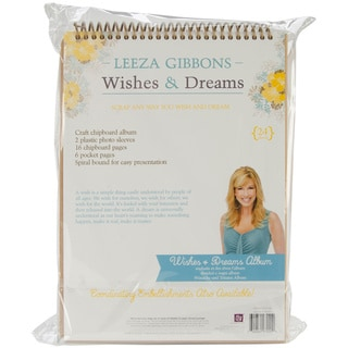Wishes & Dreams12.5x9 Spiral Bound Waterfall Album (22 Pages)