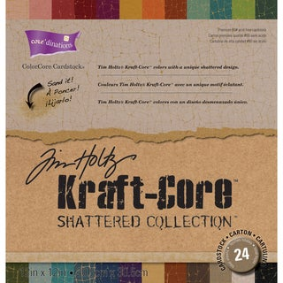 Core'dinations Kraft Core Paper (Pack of 24)
