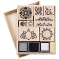 Martha Stewart Mounted Stamp Set-Flourish