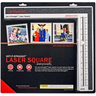KELLYCRAFT Get-It-Straight Laser Square