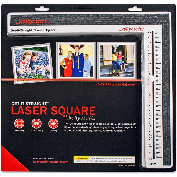 KELLYCRAFT Get-It-Straight Laser Square