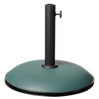 Green Concrete 33-pound Umbrella Base