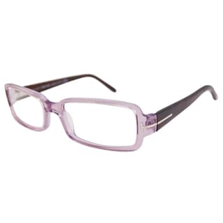 Tom Ford Readers Women's TF5185 Rectangular Violet/Pink Reading Glasses