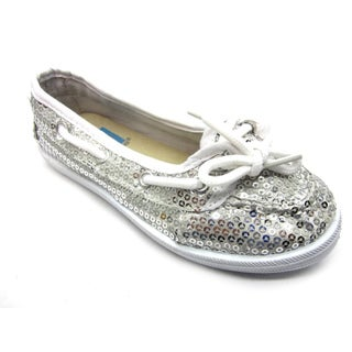 Blue Children's 'K-Boaty' Sequined Boat Shoes
